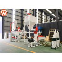 China 1T/H MCC Control Poultry Feed Processing Plant Commercial Feed Mill Equipment With Screw Conveyor on sale