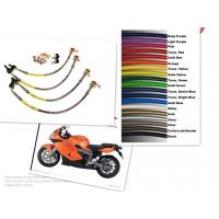 Motorcycle Racing Colored TEFLON/PTFE Steel Braided Brake Line Hose Kits Manufactures