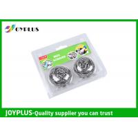Household Kitchen Cleaning Pad Scouring Pad Safe For Stainless Steel HK0510-2B Manufactures
