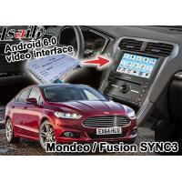 China  Mondeo Fusion SYNC 3 Auto Navigation System Android 5.1 WIFI BT Map Google Service on sale