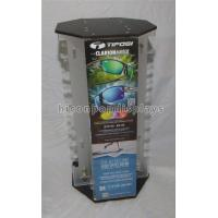 Optical Shop Advertising Rotating Sunglass Display Rack Countertop Holds 40 Pairs Manufactures