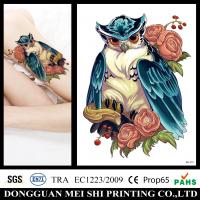 Temporary Fake Arm Half Sleeve Tattoos Stickers For Adults / Men Non Permanent Manufactures