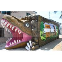 Soundproof Dinosaur Box 5D Movie Theater 9 Seats With Luxury Movement Chair Manufactures