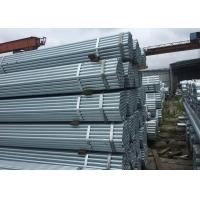 ASTM A36 Mild Steel Hollow Galvanized Round Steel Tube with Weld / Seamless Type Manufactures