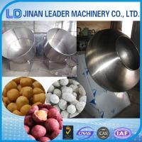Peanut Sugar Coating Machine commercial chocolate used widely Manufactures