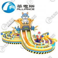 PVC Inflatable Jumping Bouncer Inflatable Bouncy Castle Lead Free Double Stitching Manufactures