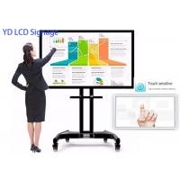 32 Inch Interactive Touch Screen Kiosk Smart Whiteboard With Low Energy Consumption Manufactures