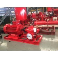 Buy cheap Motor Pump Sets 400usgpm 108psi 3550rpm UL/FM Fire Fighting Pump End Suction from wholesalers