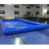 Double Stitching Above Ground Swimming Pools With Repair Kits For Parks Manufactures