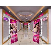 Customized Tripod X Stand Banners Trade Show Display 1440*1440 Dpi Manufactures