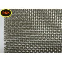 Multi Strand Architectural Wire Mesh Perforated For Staircases Isolation Screen Manufactures