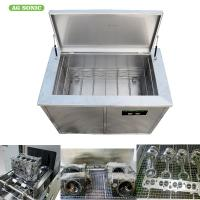 Engine Block Industrial Ultrasonic Parts Cleaner 300l 3000w ForFat Motor Blind Cleaning Manufactures