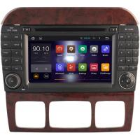 Multimedia S Class W220 Mercedes Benz Radio GPS , Mercedes Benz Car Stereo 1999 - 2005 Manufactures