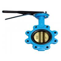 120 inch Flanged Butterfly Valve , DN50-3000 Stainless Steel Lug Type Butterfly Valve Manufactures