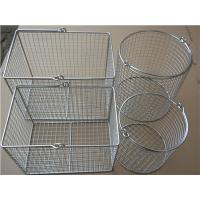 Stainless Steel Wire Mesh Baskets Manufactures
