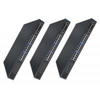 Unmanaged 28 Ports 5 Port Gigabit Switch 455W Inner Power Supply PoE Ethernet Switch Manufactures