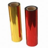 Hot Stamping Foils in Various Colors, Used on Hard and Soft Plastics, Leather and Paper Manufactures