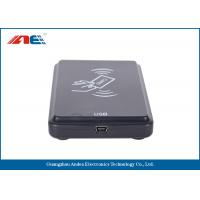 OEM ODM Square USB RFID Reader Writer For Access Control ISO 15693 Protocol Manufactures
