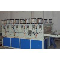PVC Board Extrusion Manchine With Twin Screw Extruder , pvc Crust Foam Board Extruder Manufactures