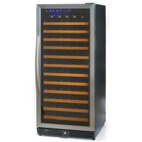 122 Bottles Compressor Wine Cooler (Fridges), Single Temp. Zone, Stainless Steel Door Trim Manufactures