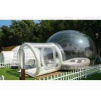 PVC Inflatable Transparent Bubble House Tent For People Have A Camping In Outdoor Manufactures