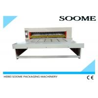 Roll To Roll Rotary Die Cutting And Creasing Machine For Feeding Corrugated Box Manufactures