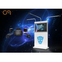 Quality Dynamic 360 Degree Virtual Reality Simulator VR Game Machine 800W Power for sale