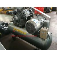Electric Belt Driven Piston Air Compressor / Portable Piston Air Compressor for Industrial Manufactures