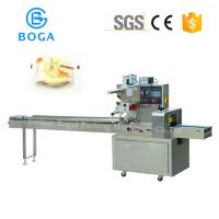 Flat Bread Packaging Machine / Meat Wrapping Machines 2.4KW Power 220V Manufactures
