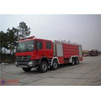 Quality Mercedes Commercial Fire Trucks Max Speed 100KM/H With Pressure Combustion Engine for sale
