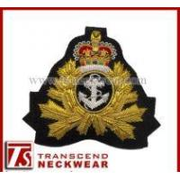 Quality Cap Badges, Embroidery Badges, Hand Embroidery Patches for sale