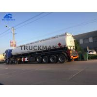 China 50m³ 4 Axles Oil Tank Trailer China Best Brand Manufacturer 3-7 Compartments on sale