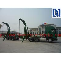 China 3 Axle XCMG Model MQH37A Container Side Lifter Trailer For 37t Lifting Capacity For 40' And 20' Container on sale
