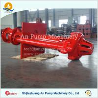 China Mining Pit Sump Submerged Vertical Slurry Pump on sale