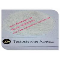 China Raw Muscle Growth Steroids Testosterone Acetate Test Acetate Powder CAS 1045-69-8 on sale