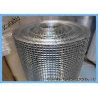Professional Galvanized Weld Mesh Fence Panels , Steel Mesh Screen Roll Manufactures