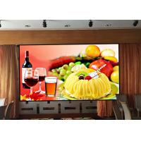 Quality P1.667 Indoor Advertising LED Display Hd Led Panel For Stages High Refresh Rate for sale