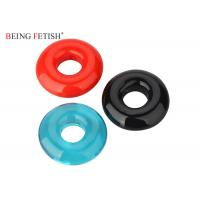China Super Screaming Stretchy Silicone Pleasure Ring O Ring Vibrator With Assorted Colors on sale