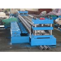 2 Waves Highway Guardrail Roll Forming MachineFually Automatic Control by Panasonic PLC Manufactures