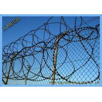 China Razor Wire Fence Used with Barbed Wire Together for High Security Fencing on sale