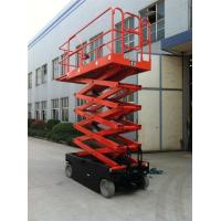 China ASE0810 Pure Electric Outdoor Scissor Lift 8000mm Max Platform Height Heavy Duty on sale