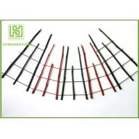 Natural Green Thick Bamboo Flower Sticks For Orchard Various Diameter Manufactures
