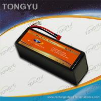 Light weight UAV 6S 30C Rechargeable RC Battery Pack 22.2V 8000mAh Manufactures