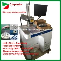 Quality 20W 30W 50W fiber laser marking machine for print words in metal for sale