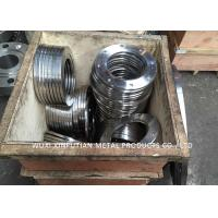 Welded PN16 / 10 Flange Stainless Steel Pipe Fittings ASTM A182 WN / SO / BL /