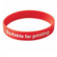 Printing Negative-ions Silicone Wristband Bracelet Healthy For Children Manufactures