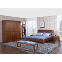 Quality New design Upholstered headboard Bedroom furniture set By ISO9001 and FSC china factory with Mirror stand and Dresser for sale