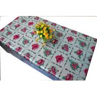 Fancy wipe easy PVC laser table cloth Manufactures