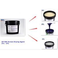 UV Screen Additives Fast Drying Agent For UV Screen Color Ink Or Varnish Manufactures