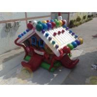 Quality Huge Eye - Catching Advertising Inflatable Castle Bouncer For Childrens Party for sale